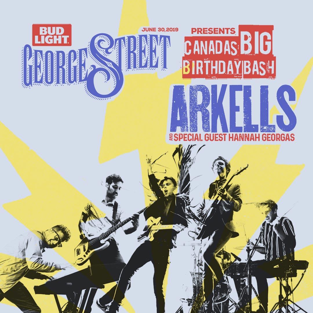 Arkells 2019 Canada's BIG Birthday Bash