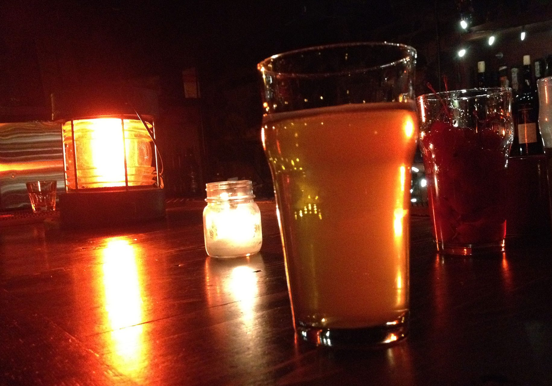 YellowBelly craft beers at the UnderBelly Speakeasy